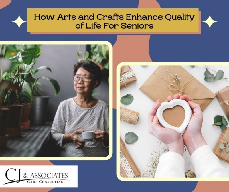 How Arts and Crafts Enhance Quality of Life For Seniors